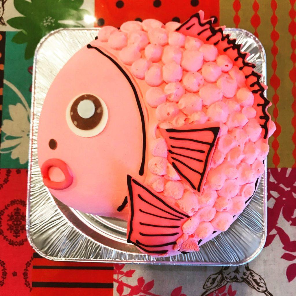 おめで鯛3D立体型ケーキ